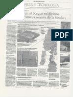 Unesco declara al bosque valdiviano andino como nueva reserva de la biósfera