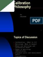 Calibration Philosophy 1