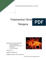 Tratamentos térmicos