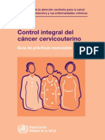 Cancer de Cervix Omsspa