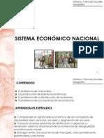 CLASE 1 SISTEMA ECONÓMICO NACIONAL-I