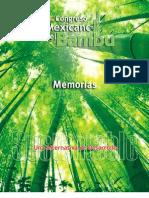 1er Congreso Mexicano Del Bambu - Memorias Una Alternativa de Desarrollo Sustentable