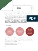Sostenibilidad y ad Ecuador