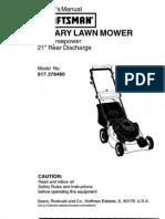 Manual Loan Mower L0202087