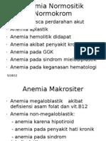 Anemia Normositik Normokrom