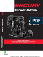 8369382-Mercury Mariner 200hp Optimax Jet Drive Service Manual