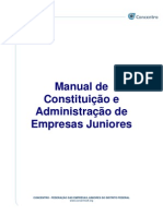 Manual de Criacao de Empresas Juniores