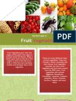 Serena Fruit Vegetables Fact Sheet