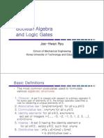 Chapter2 Boolean Algebra