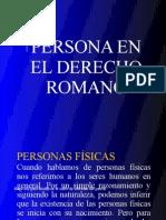 La Persona en El Derecho Romano (1)