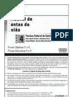 TEFC Provas Objetivas P1 e P2
