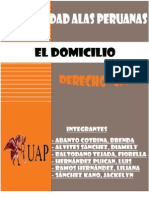 DOMICILIO--- D° CIVIL