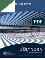 DesignGuide 200Series. solyndra