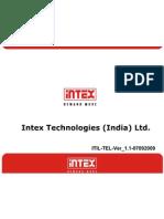Procedure for Intex Phone Works as a Modem Ver_1.1