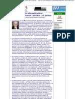Los tres años del Gobierno del Presidente de Brasil Luiz Inácio Lula Da Silva