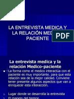 Entrevista Medica y Relacion Medico-paciente