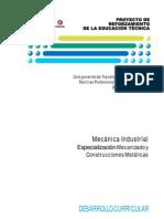 Mecanizado y Construcciones Metalicas DC 5to Mecanic