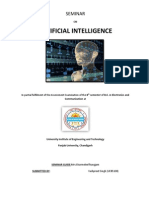 Artificial Intelligence Report Repaired)