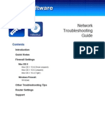 Network Troubleshooting Guide