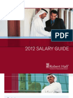 Robert Half Uae Salary Guide 2012