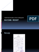 Present Kajian Resep (0608525006)