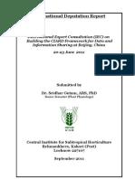 Report on Deputation to IEC
