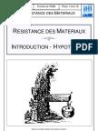 Cours de Resistance Des Materiaux
