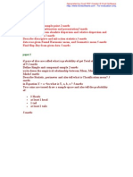 STA301 Paper