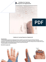 Guidelines for Capturing Palm Prints and Supplementals