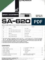 Pioneer SA-620 Amplifier