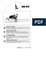 3) service manual mac 842 mac 842 (9528021-87)