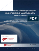 Implementation of Cisg and of the System of International Commercial Arbitration in Southeast Europe