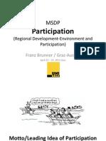 Participation Part 1 MSDP 2012