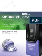 Invertek 2011 85-ODV2B-In V1.11 Optidrive HVAC 12pp Brochure 1A
