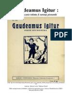 """O """"Gaudeamus"""" słów kilka! :)"""
