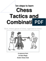 Dave Regis - Ten steps to learn Chess Tactics and Combinations • Short, violent games of chess, organised by theme  2010