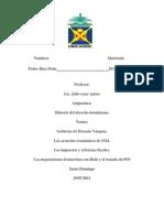 Trabajo Historia Del Derecho Dominicano 5to Encuentro