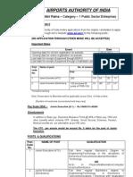 Www.aai.Aero Employment News JE ATC Elect2012