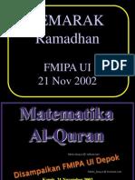 05 Metematika Quran
