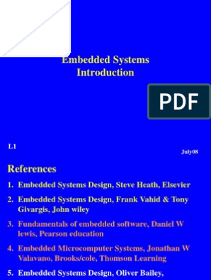 L1 Integrated Circuit Embedded System