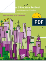 HandBook on Making Cities Disaster Resilient (UN)