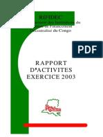 Rapport Rifidec 2003