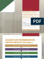 Bab 1-Asal Usul, Sejarah Dan an Bahasa Melayu
