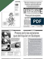 Versión impresa del periódico El mexiquense 18 mayo 2012