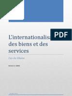 Production de biens et services internationalisés