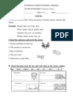 Grammar Exercise-Rearrange Sentences