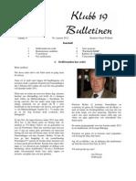 Bulletin Nr 1 2012