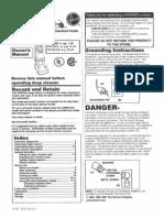 Hoover SteamVac F5857-900 Manual
