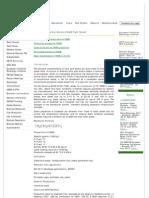 Fatty Acid Methyl Esters (FAME) Fact Sheet