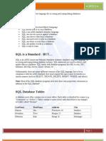 SQL Tutorial